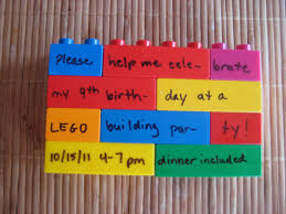 Lego Invitation Cards How I Threw A Lego Building Birthday Party For 8 Boys For Less