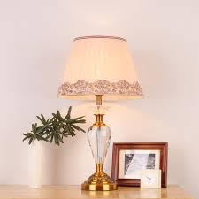 Livingroom Table Lamps by Online Get Cheap Crystal Table Lamps For Bedroom Aliexpress Com