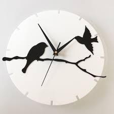 winsome hanging wall clocks two sided metal chrome hanging leather