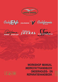 moto guzzi workshop service manual 2003 california ev u2022 25 00