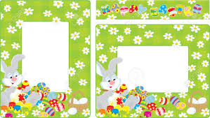 egg border clipart to color
