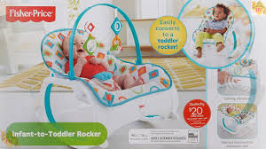 Infant Toddler Rocking Chair Best Fisher Price Infant To Toddler Rocker Geo Diamonds Baby
