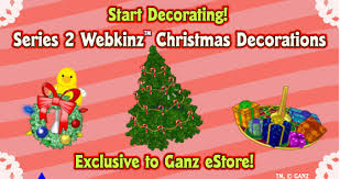 christmas ornaments series 2 webkinz insider wiki