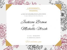 wedding cards online create wedding cards online for free welcome to our wedding fotor