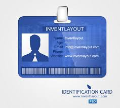 identification card psd inventlayout com download free psd ai