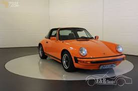 orange porsche targa classic 1978 porsche 911 sc targa cabriolet roadster for sale