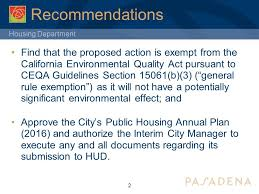 Council On Environmental Quality Guidelines Housing Department City Council Through Economic Development And