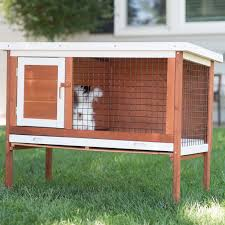 boomer u0026 george cottontail rabbit hutch hayneedle