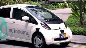nissan leaf s g first operational self driving taxi goes live in singapore