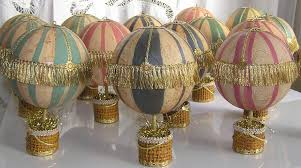 air balloon paper mache ornament created by iva wilcox flickr