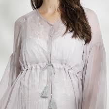 robe de chambre maternité robe longue de grossesse et allaitement de cérémonie