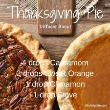 thanksgiving pie diffuser blend bulk apothecary
