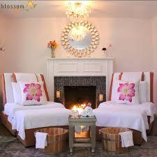 lotus lounge foot massage reflexology fireplace large