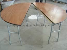 half moon table china manufacturer abnormity folding table