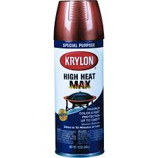 krylon 12 oz metallic copper high heat max spray paint k01609000