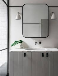 framed mirrors for bathroom vanities classy design metal framed mirrors bathroom you ll love wayfair