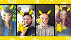 Take A Selfie Take A Selfie With Pikachu In Snapchat Before It U0027s Gone Geek Com
