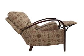 contemporary abstract patterned hi leg recliner mathis brothers