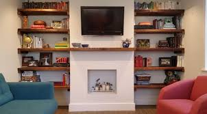 Building Solid Wood Bookshelf by How To Install Your Own Diy Shelves Redfin