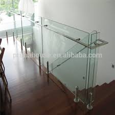 Frameless Glass Handrail Frameless Glass Railing Designs For Internal Staircase Balcony
