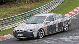 opel insignia wagon 2017 2017 opel insignia caught on spy on the nurburgring automotorblog