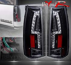 2000 chevy silverado tail light assembly 92 99 chevy suburban c1500 replacement led brake black tail lights