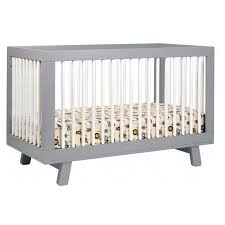 Babyletto Hudson 3 In 1 Convertible Crib Babyletto Hudson 3 In 1 Convertible Crib With Toddler Rail Grey