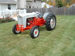 1957 ford 860 tractors and farm machinery pinterest ford