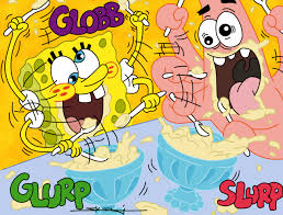 spongebob publish with glogster
