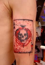 spade tattoo on sleeve design of tattoosdesign of tattoos