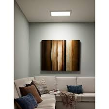 pixi led flat light installation led flat panel lights for cellar pixi 1 ft x 2 ft 90 130 volt