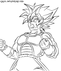 dragon ball z coloring pages bardock high quality coloring pages