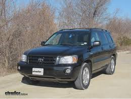 2005 toyota highlander towing capacity where is tow hook that has to be removed to install trailer hitch