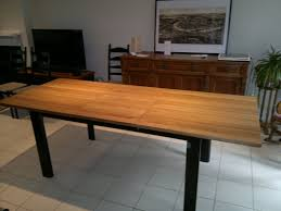 fabriquer table cuisine table cuisine en bois alinea table salle a manger desserte borale