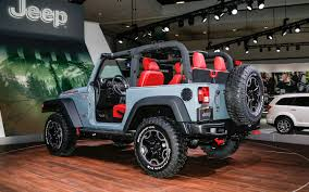 jeep convertible 4 door 2013 jeep wrangler rubicon 10th anniversary first look truck