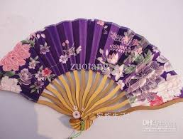 personalized folding fans 2018 personalized wedding fans silk size 12 x 8 inch mix
