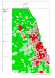 West Chicago Map by Chicago 1990 Census Maps