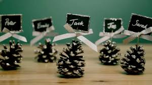 how to make name card holders from pine cones tesco living youtube