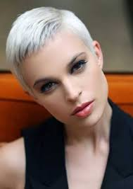 short white hair super short white hair hairstyles hair photo com