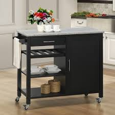 buy kitchen islands august grove shyanne kitchen island set with granite top reviews