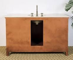 adonis single 53 inch traditional bathroom vanity