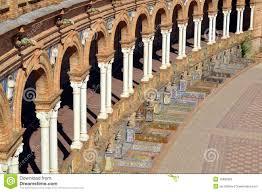 islamische architektur islamische architektur in sevilla stockfoto bild 19685622