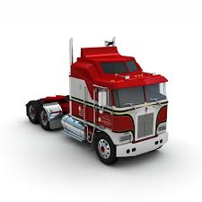 paccar kenworth 3d truck trailer atds model