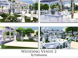 wedding arches sims 4 pralinesims wedding venue 2