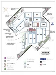 study room floor plan locations guide university of texas libraries