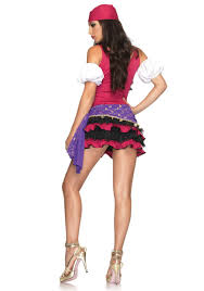 halloween crystal ball with head 3pc crystal ball gypsy costume set with peasant dress puff