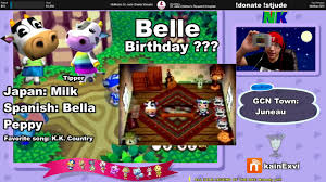 gamecube n64 only animal crossing villager facts aziz belle