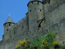 Carcassonne France Map by