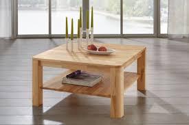 Wohnzimmertisch Holz Quadratisch Couchtisch Ct300 Von Dico In Buche Oder Wildeiche Massiv Möbel