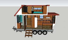 Tiny House Cartoon Renders Rich Mann
